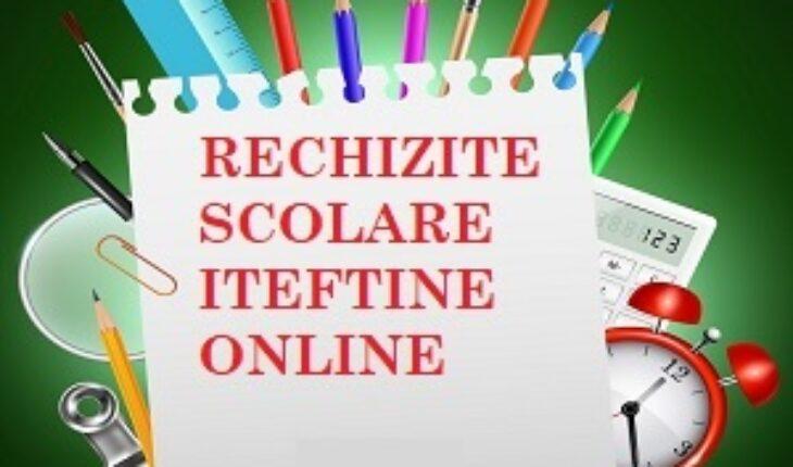 rechizite scolare ieftine online