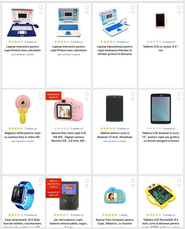 laptopuri si gadgeturi copii